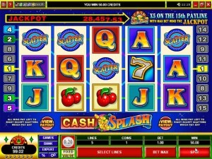 Cash Splash Video Slot