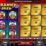 Granny Prix Bonus Scratch Card