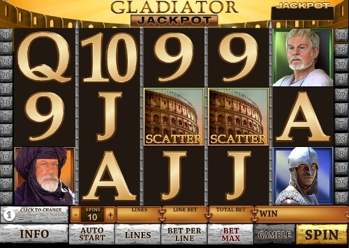 Play Gladiator Scratch Online at Casino.com Canada