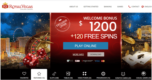 Royal Vegas Canada Casino