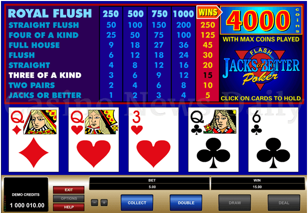 Free Video Poker Slots Jacks Or Better