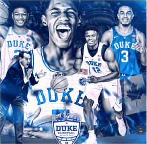 Duke Basketball matches in Canada