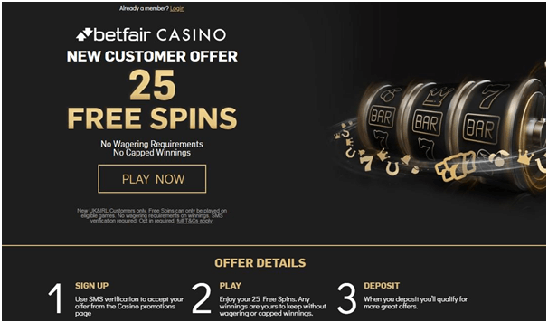 Free spins at casinos