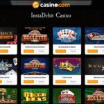 Instadebit casino CAD