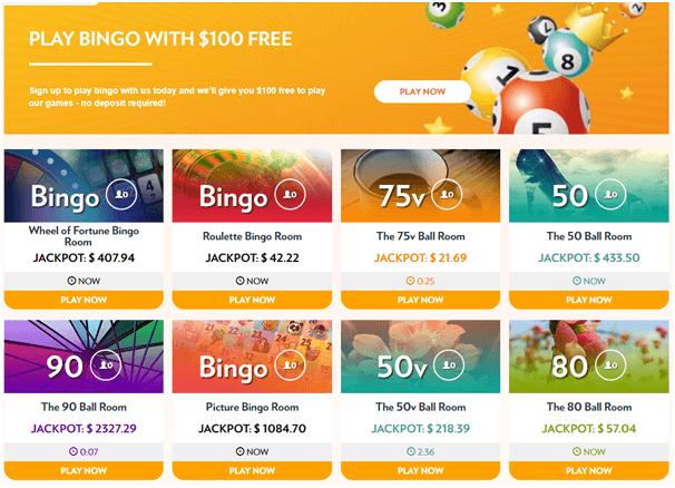 Bingo games in Ontario Canada