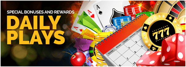 Daily Bonus at Can play casino Canada