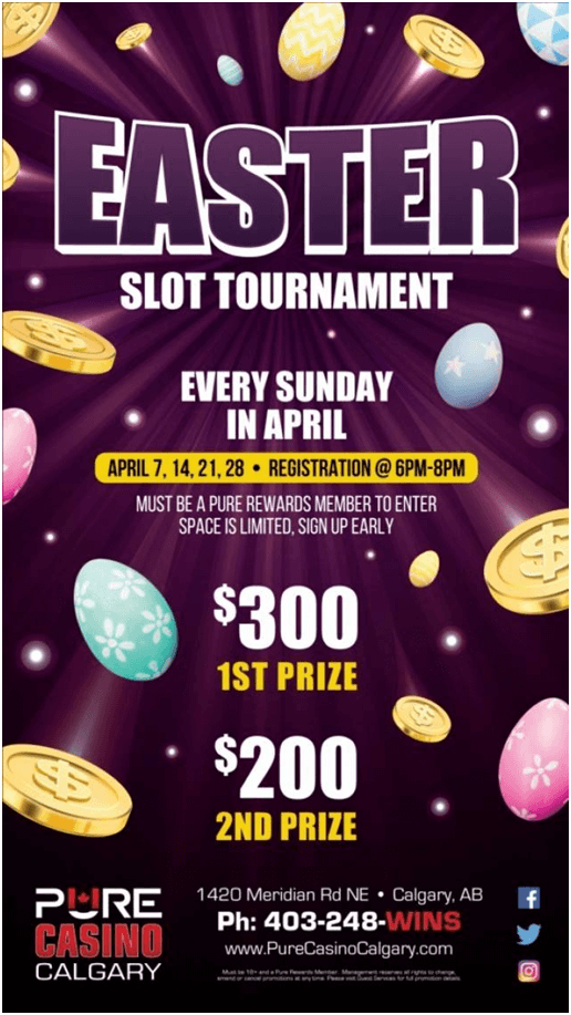 Easter 2019 Canada slots tournaments