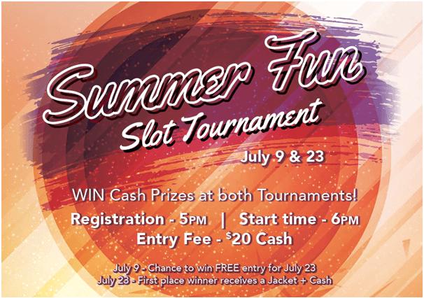 Summer fun Slot tournament Canada