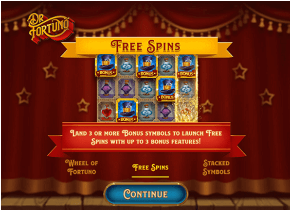 Dr Fortuno Slot Free Spins