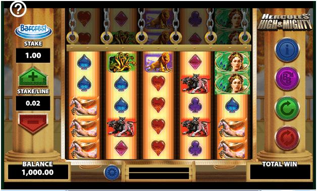 Hercules slot game
