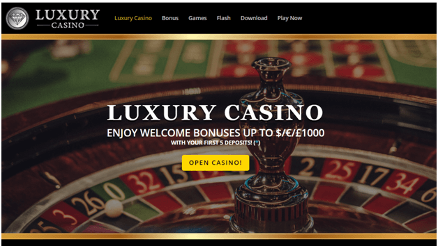 Luxury Casino CAD