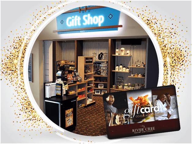River creek casino Canada Gift shop