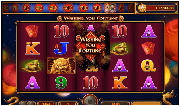 Wishing you Fortune slots
