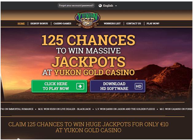 Free Slots Yukon Gold