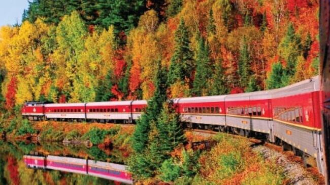 Agawa Canyon tour train, Sault Ste. Marie, Ontario