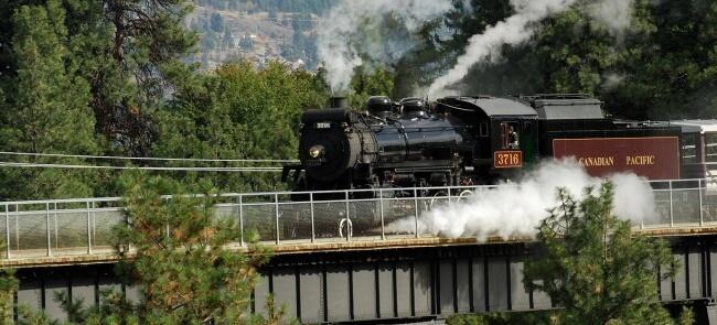 Kettle Valley Steam Railway, Summerland, B.C.