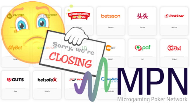 Microgaming's MPN Poker Network Will Shut Down in 2020