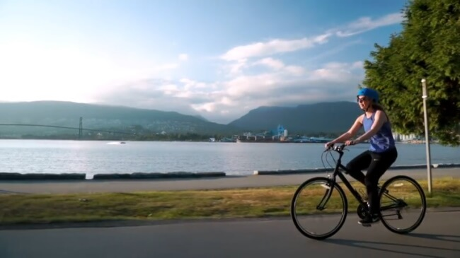 See Vancouver by bike