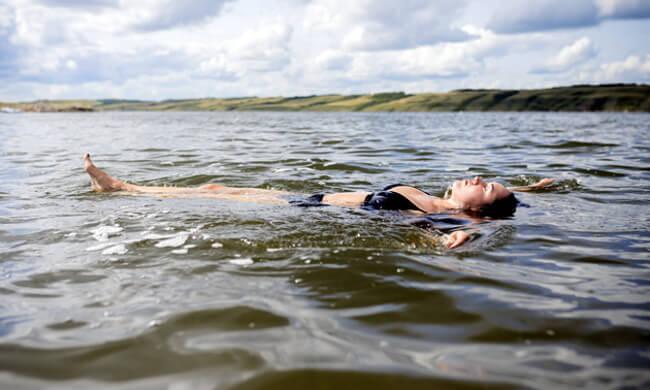 Swim in Saskatchewan's Dead Sea