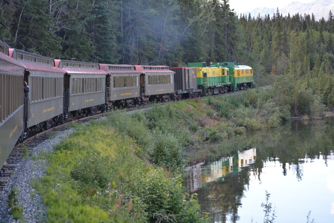 White Pass & Yukon Route Railroad, Carcross, Yukon