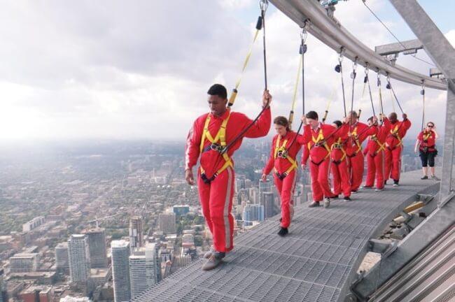 Visit the CN Tower's Edge Walk