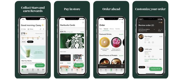 Starbucks app