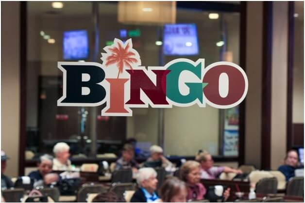 Bingo hall at Rampart casino Vegas