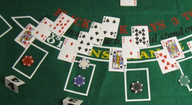 Blackjack Casino Style