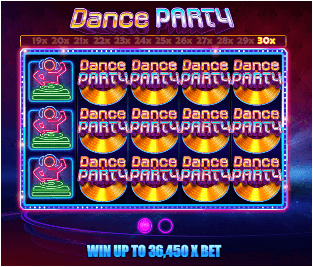 Dance Party free slots Canada-Multiplier