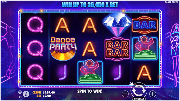 Dance Party free slots