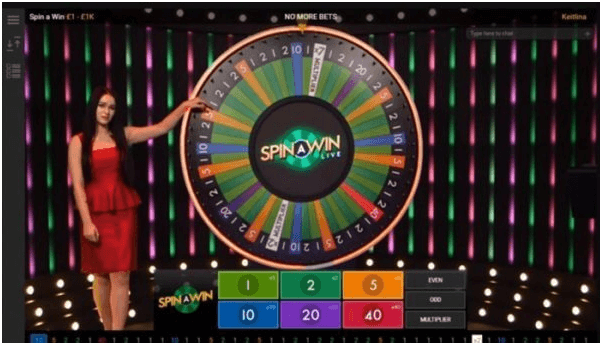 Exclusive spin and win