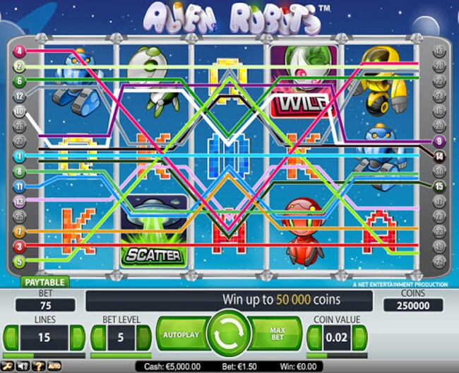 Top 4 Slots with 243 winning lines to play