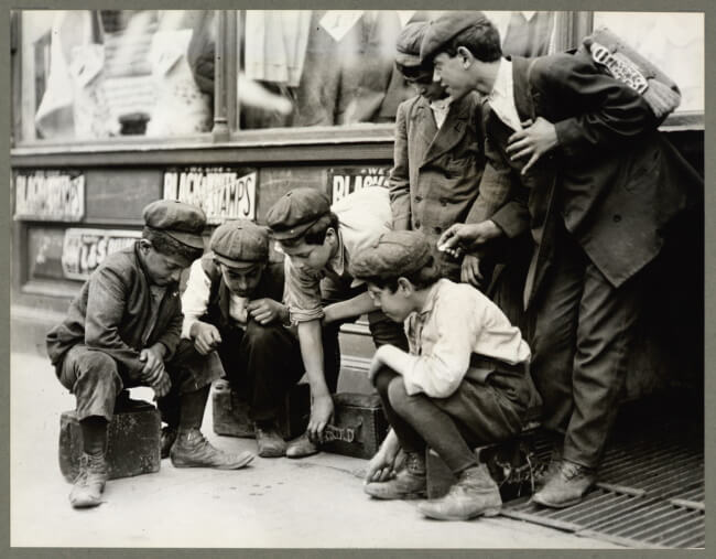History of Street Craps