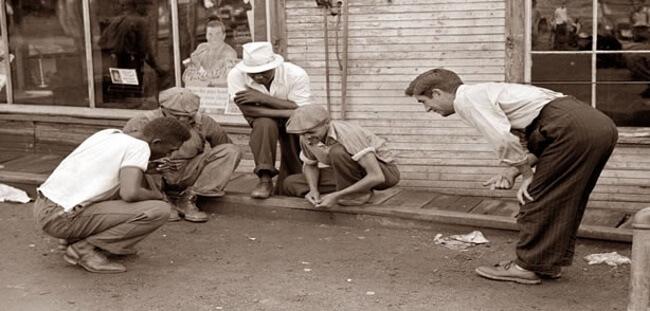 Origin of Street Craps