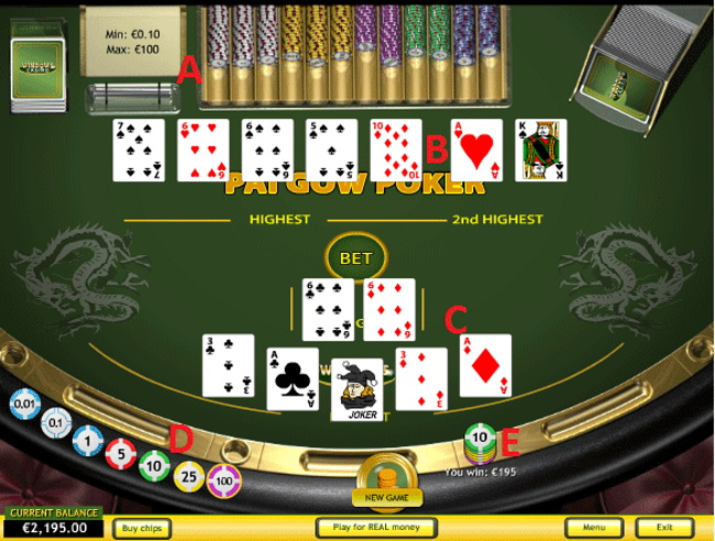 9 Types of Pai Gow Poker to Play at Online Casinos