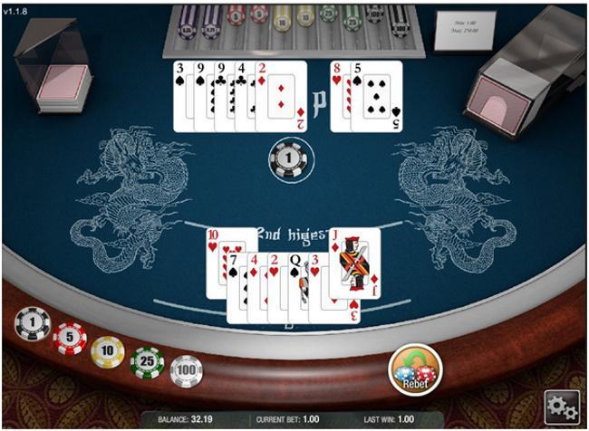No Push Pai Gow Poker
