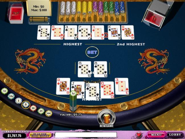 Standard Online Pai Gow Poker