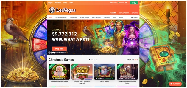 The 32 Days of Christmas Bonus Offers at Leo Vegas Canada to Grab Now