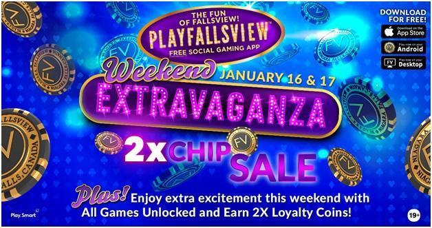Free chips at Falls View Casino