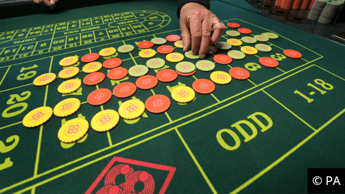 Opt for a table game instead