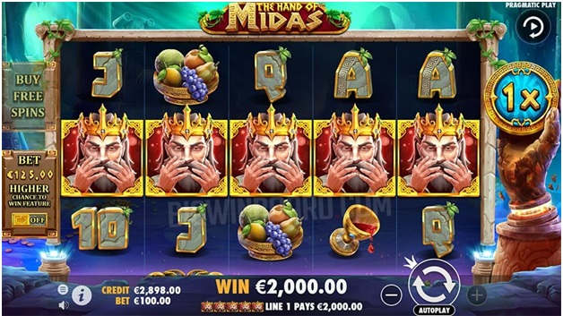 The hand of Midas- Game feature