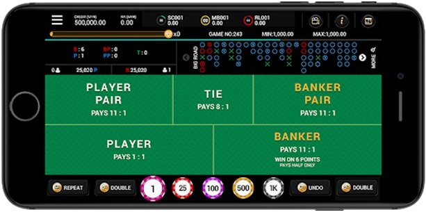 Play Baccarat Games at Platinum Play online casino Canada