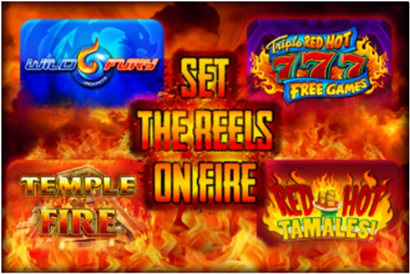 Set the Reels on Fire by Playing Four New Fire Slots in Canada