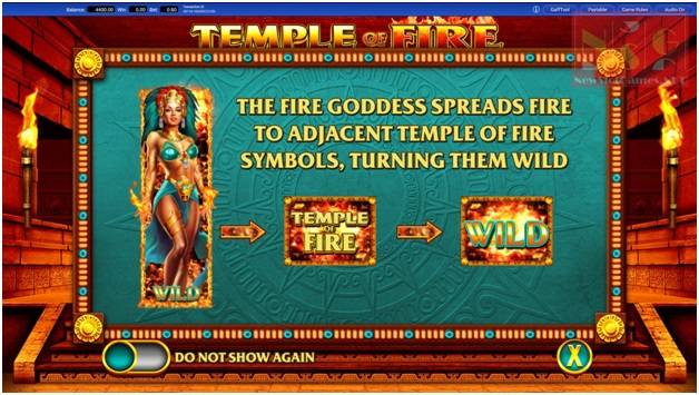 Temple of fire slots