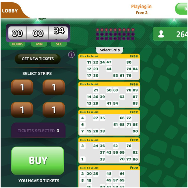 90 ball bingo online