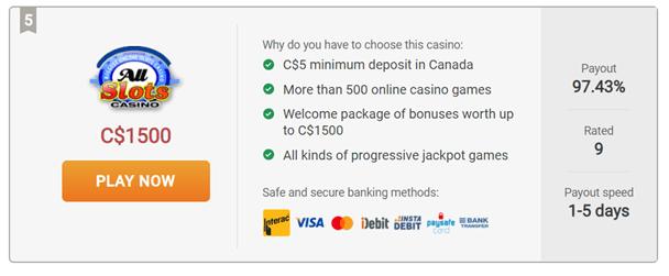 All Slots - $5 Casino